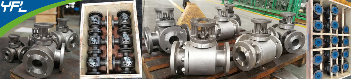 YFL L type three way ball valves, YFL T type three way ball valves
